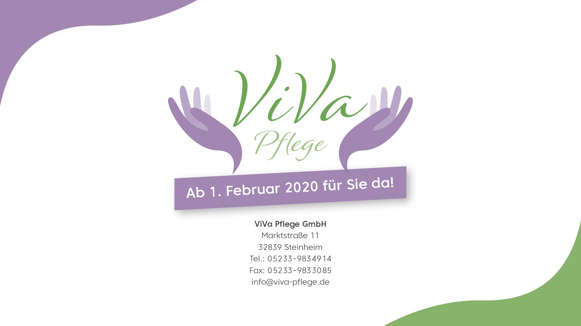 ViVa Plfege Broschüre