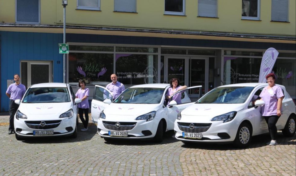ViVa Pflege mit Autos